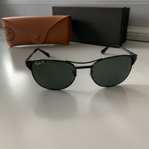 NEW Authentic Ray-Ban Aviator Polarized Sunglasses